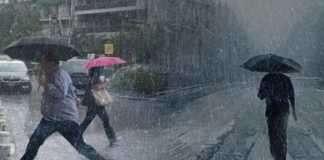 Καιρός: Έρχεται ισχυρή κακοκαιρία με βροχές και καταιγίδες – Που θα χτυπήσουν τα φαινόμενα
